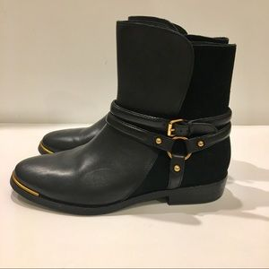 UGG Kelby leather and suede boots